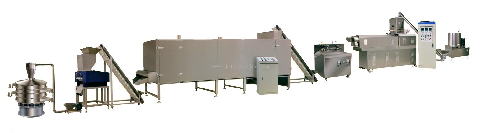 膨化面包糠生產線