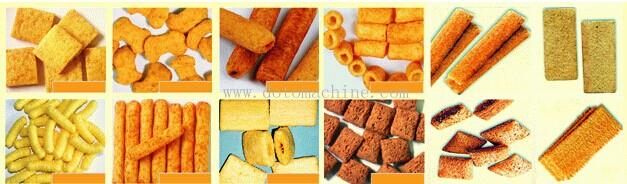 Core filling snacks procesing line